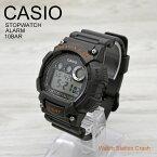 5年保証 CASIO デジタル メンズ スポーツ 腕時計 チャコールグレー W-735H-8A バイブアラーム ストップウォッチ タイマー 10気圧防水