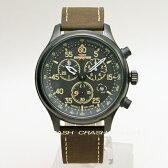 TIMEXタイメックス腕時計T49905 クロノグラフ100M防水 革ベルト メンズ 時計【あす楽 送料/ラッピング無料】