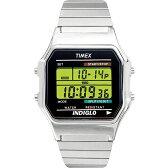 【あす楽】タイメックス 腕時計クラシック デジタル シルバーTIMEX80 T78587送料/ラッピング無料【コンビニ受取対応商品】
