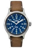 【あす楽】【ポイント2倍】TIMEX タイメックス 腕時計TW4B018EXPEDITION SCOUT METALミリタリー 本革 メンズ ウオッチ【ラッピング/送料無料】