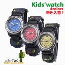 クリスマス カクタス CACTUS 腕時計 キッズ cac-45 CAC45M03(ブルー) CAC45M10(イエロー) CAC45M07(レッ...