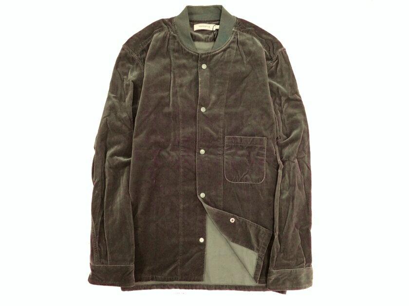 トップス, カジュアルシャツ  17AW nonnative TRAINER SHIRT CR VELVET 0(na190214-2) 1(na190214-3) 2(na190214-4)