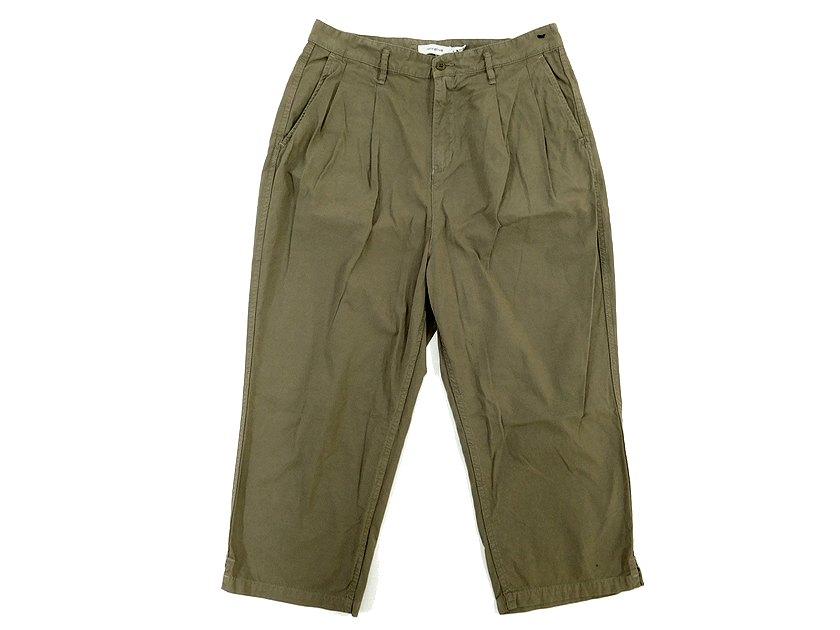 メンズファッション, ズボン・パンツ  nonnative CLERK SHIN CUT TROUSERS RELAX FIT COTTON POPLIN OVERDYED 0 (na19014-6) 3(na19014-7)