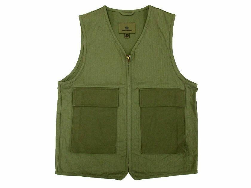 トップス, ベスト・ジレ 16SS Nigel Cabourn utility vest 48:YA20160823-6 50:YA20160823-7 SALE
