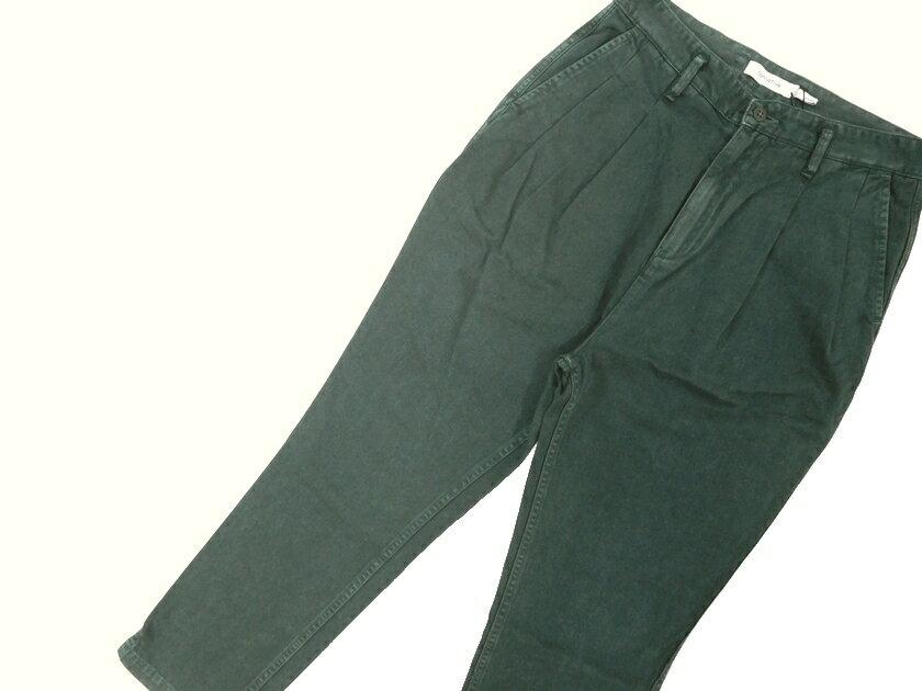 メンズファッション, ズボン・パンツ  17SS nonnative CLERK ANKLE CUT TROUSERS RELAX FIT COTTON CHINO CLOTH OVERDYED 2 ym180803-5