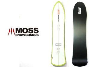 定価8.5万 MOSS SNOWSTICK モス U4 premium edition スノーボード スノボ 板 黄緑/ar190215_6w