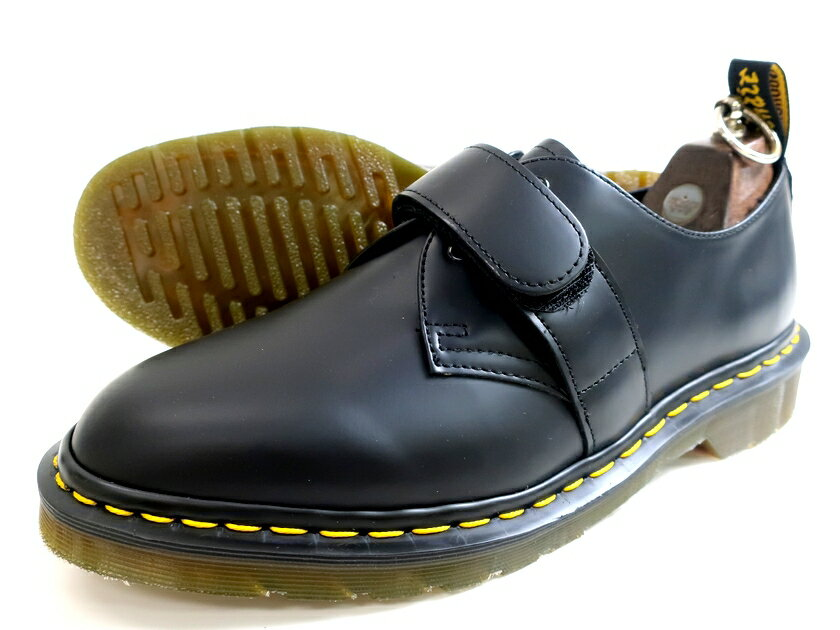 メンズ靴, その他 Dr.Martens Engineered Garments 23909001 EG VELCRO SHOE 1461 Derby 5.2 7-01 8-02 9-0310000915k06