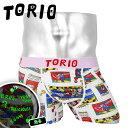 TORIO/トリオ ボクサーパンツ メンズ アンダーウェア 下着 おしゃれ かわいい キャラクター コミック お...