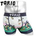 TORIO トリオ ボクサーパンツ メンズ 下着 おしゃれ ブタパンツ キャラクター アニメ 動物 アニマル ツルツル かわいい ブランド おもしろパンツ 男性 プレゼント プチギフト 誕生日プレゼント 彼氏 父 息子 ギフト 記念日 111950