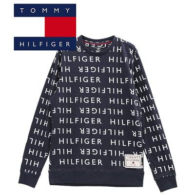 TOMMY HILFIGER プルオーバースウェット