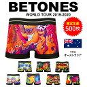BETONES/ビトーンズ ボクサーパンツ メンズ 下着 WorldTour ワールドツアー オース ...