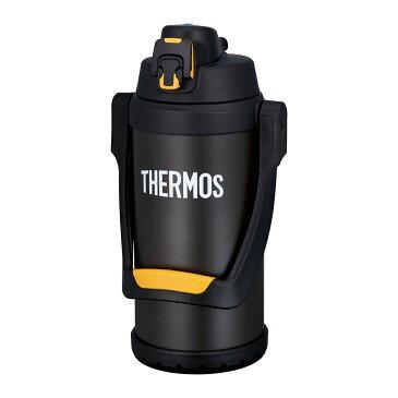 真空断熱スポーツジャグ 2L ブラックオレンジ FFV-2001【THERMOS 水筒 大容量 ジャグ 2リットル 保冷】