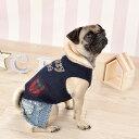 CRAZYBOO / クレイジーブーチェックポケットタンクトップXS / S / M / L サイズ犬服 / 犬の服/ ドッグウェア