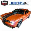 ダッジチャレンジャー 392スタイル レーシングストライプ ラ...