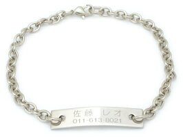 小型犬&猫用の刻印プレートネックレス【XSサイズ・11cm〜18cm】印
