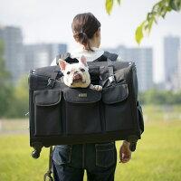 TAKEME中型犬・多頭飼い用キャリーバッグXLサイズ・ブラック送料・代引き手数料無料中型犬用キャリーバッグリュック&カート多頭飼い用キャリーバッグペットグッズペットカート