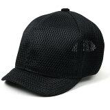 大きいサイズ メンズ 帽子 L XL メッシュ アンパイアキャップ BIGWATCH 黒 ブラック ビッグサイズ ビッグワッチ 無地 キャップ シンプル C-09 春 夏 秋 UVケア
