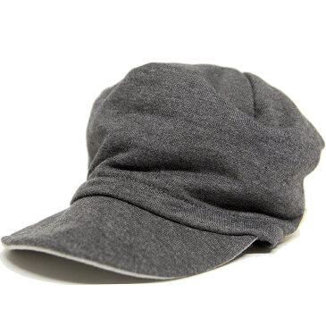 大きいサイズ 帽子 リバーシブル スウェット キャップBIGWATCHグレー/MIXグレーメンズ キャスケット ビッグサイズ ビッグワッチ コットン/CAS-31
