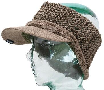 大きいサイズ 帽子 L XL ヘンプダメージ ツバ付きヘアバンドBIGWATCH ベージュ カーキ ターバン クラッシュ加工 ビッグワッチ カチューシャ CTB-03