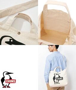 チャムス CHUMS正規品 ブービー キャンバス ショルダー トート 2way バッグ ロゴプリント メンズ レディース CH60-2557/国内正規品/通勤/通学