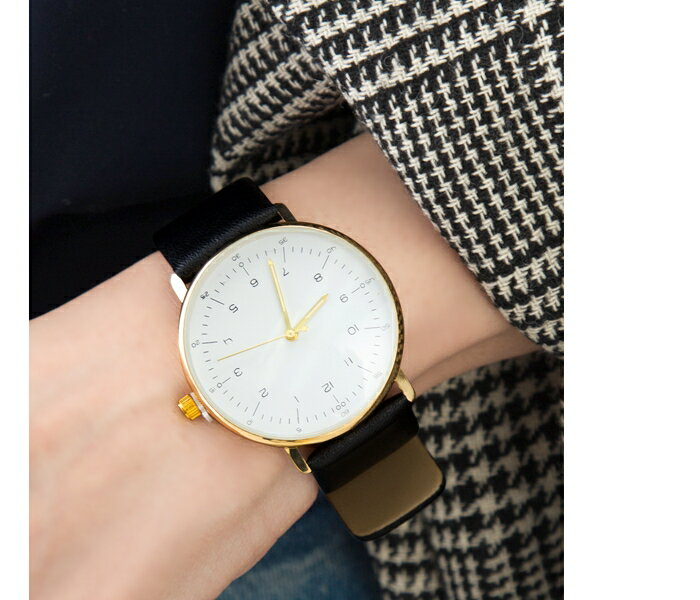 【ゆうパケット】腕時計メンズ/レディース ゴールド 38mm 本革レザーベルト シンプル 兼用 日本製ムーヴメント レディース メンズ クラシック ブランド 人気 ウォッチ ギフト
