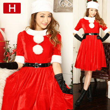 サンタコスプレサンタコスクリスマスサンタクロースコスチューム激安衣装大きいサイズ長袖半袖コスセクシーパーティワンピースワンピドレスサンタコスプレサンタコスチュームケープパンツ赤レッド黒ブラックピンク服2016レディースファッション