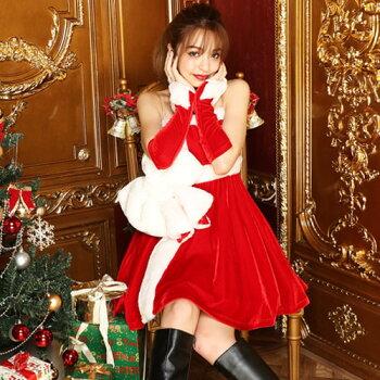 サンタコスプレサンタコス激安クリスマスサンタクロースコスチュームセクシーパーティ大きいサイズワンピースワンピドレスコス衣装サンタコスプレセクシーサンタサンタコスチュームクリスマスコスプレアームウォーマー赤レッドレディースファッション
