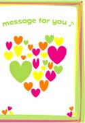 ボイスレコーダー メッセージボイスカード プリティハート メッセージカード・スタンダードタイプ クリスマス バレンタイン ラッピング