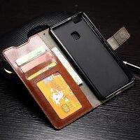 HuaweiP9lite専用レザーケース手帳型全6色2