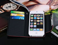 iPhone5専用レザーケース財布型2