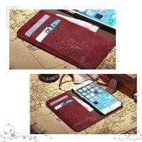 iPhone7専用レザーケースレトロエンボス加工2