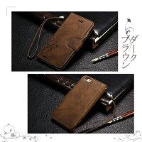 iPhone7専用レザーケースレトロエンボス加工8
