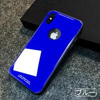 iPhoneX背面ガラスケース12