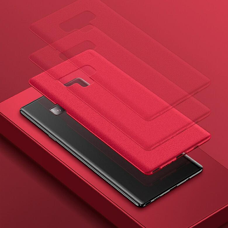 【 メール便発送】 Samsung Galaxy Note9 裏面用ケース 超薄型 表面指紋防止処理 全5色 【Galaxy Note 9 docomo SC-01L au SCV40 カバー シェル アイフォンケース アイフォンカバー Case Cover】