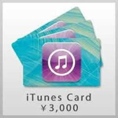 【20%OFF! 10枚セット】iTunes Card 3000円分×10枚