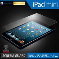 iPadmini用液晶保護ガラス1