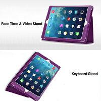 iPadAirスマートケーススリープ機能付け全10色2