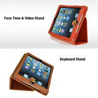 iPadminiスマートケーススリープ機能付け全9色2