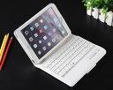 【送料無料 レターパック発送】 iPad mini 2/3/4 ケース型キーボード 【iPad mini2 mini3 mini4兼用 Keyboard 無線式 Bluetooth3.0 ワイヤレスキーボード内臓ケース レザーケース iPad mini Case】の商品画像
