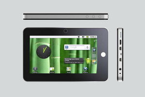 Unipad70-S4Android 2.2 Flash10.1 / Android Mark7インチ 800×480 静電式マルチタッチCPU: S...
