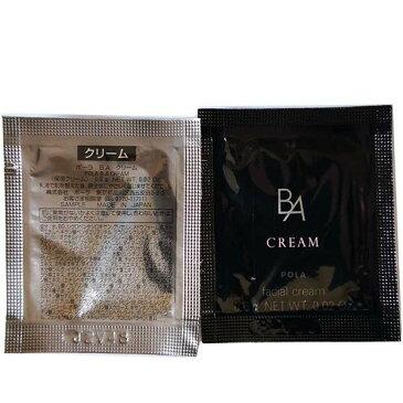 【POLA】ポーラ B.A クリーム [本体同量・サンプル] 朝夜全顔使用 ◆0.6gX100包