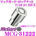 McGard マックガード ロックナット MCG-31222 【7/16平面/4個...