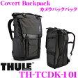THULE TCDK-101 Covert Backpack スーリー デジカメ用リュックサック デジタル一眼レフカメラ用ロールトップ式 バックパック