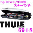 THULE 694-8 スーリー ジェットバッグ用スキーホルダー 【スキー6セットもしくはスノーボード4セット】 【Dynamic800/Motion800/Motion200/Touring780/Pacific780/Atlantis780用】