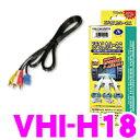 データシステム VHI-H18 ビデオ入力ハーネス 【純正ナビにビデオ入力ができる!】 【日産/ホンダ等】