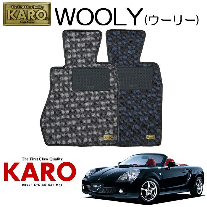 アクセサリー, フロアマット KARO WOOLY()1280 ZZW30 2 ZZW30 MR?SHMR