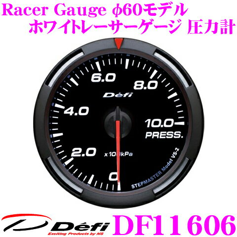 メーター, その他 11191126 P12Defi DF11606 Racer Gauge () 60