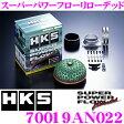 【只今エントリーでポイント+4倍!!】HKS スーパーパワーフローリローデッド 70019-AN022 日産 R33系 スカイラインGT-R C34系 ステージア260RS 用 むき出しタイプエアクリーナー