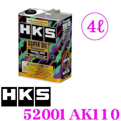 オイル, エンジンオイル HKS 52001-AK110 APISN SAE:10W-40 4 100