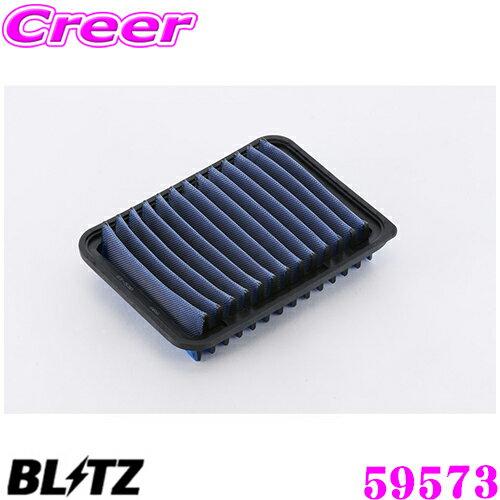吸気系パーツ, エアクリーナー・エアフィルター 920P2!!BLITZ ST-53B 59573 (ZRR80ZRR85) LM SUS POWER AIR FILTER LM 17801-21050